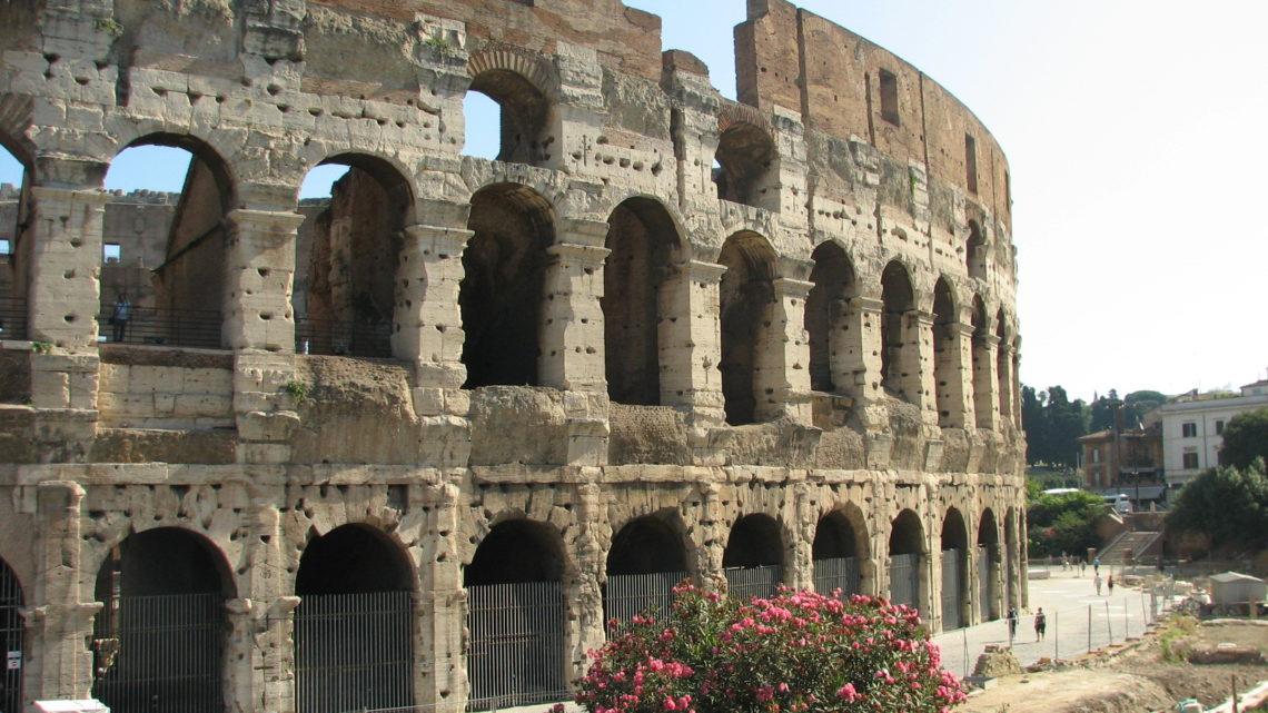 Величие древнего Рима в стихах