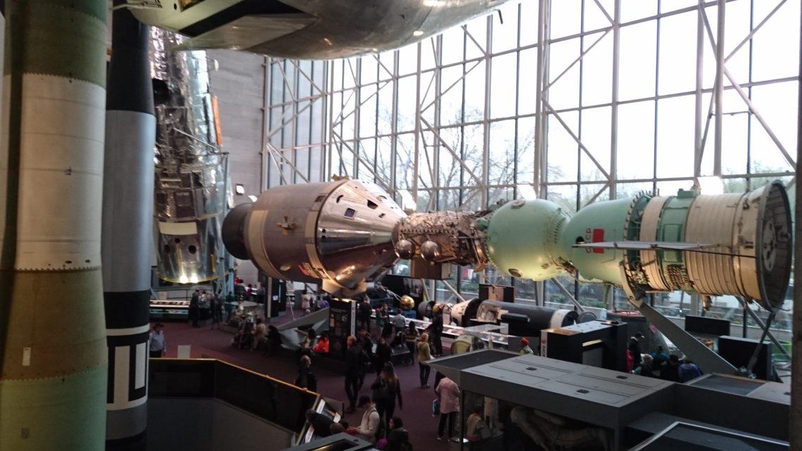 Музей авиации и космонавтике. Вашингтон. США