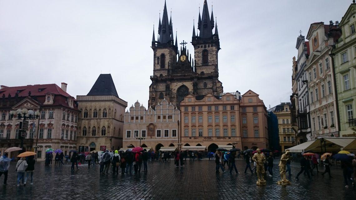 Староместская площадь в Праге.