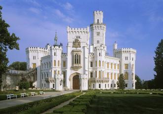 Глубоко-над-Влтавой. Чешский замок